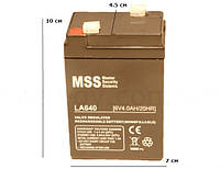 Аккумулятор 6V 4A(4000mAh)