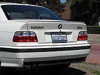 """Лип спойлер """"сабля"""" BMW E36"""