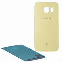 Задняя крышка Samsung G925F Galaxy S6 EDGE, золотистая