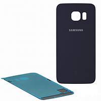 Задняя крышка Samsung G925F Galaxy S6 EDGE, синяя