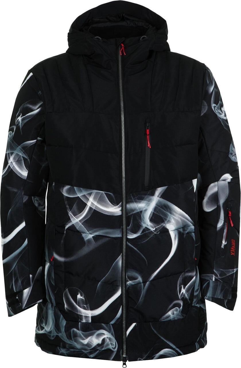 Куртка утепленная мужская Termit, красный/черный, 44