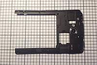 Корпус LG D686 G Pro Lite Dual (средняя часть) для телефона Б/У!!! Black ORIGINAL
