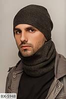 Набор сильвер Набор шапка + баф  Подклад : микрофлис по всей шапке Состав: шерсть - 60%, акрил-40%