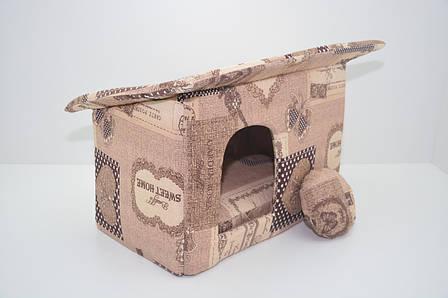 Домик Уют для котов и собак бязь, фото 2