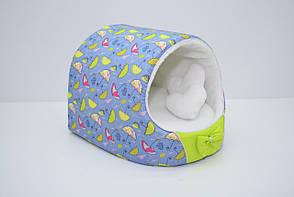 Будка для собак и котов Фантазия салатовый, фото 2