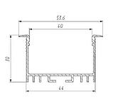 Заглушка BIOM  ЗЛСВ40 для профиля ЛСВ40, фото 5