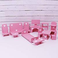 Мебель для кукольного домика Furniture Little princess.
