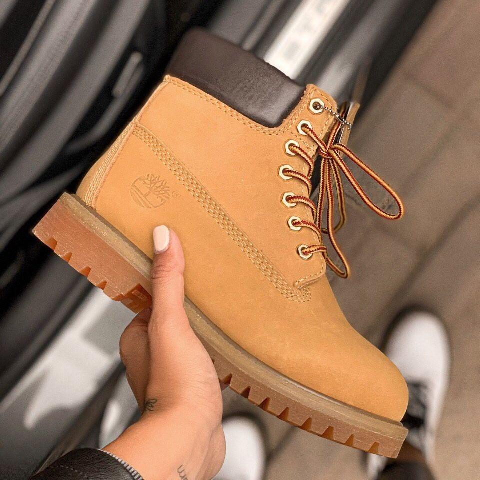Женские демисезонные ботинки в стиле Timberland Ginger