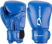 Перчатки боксерские детские Demix, cиний, 4 oz
