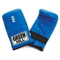 "Снарядные перчатки ""Pro"" Green Hill синий"