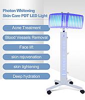 Вертикальний тип система фотодинамічної терапії Фотон прилад краси світлотерапія анти-акне видалення зморшок шкіри омолодження спа-догляд за шкірою машина