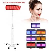 7 кольорів pdt світлодіоди світло фотонна терапія лампа для краси лікування акне омолодження шкіри антивіковий апарат для позбавлення від зморшок, фото 1