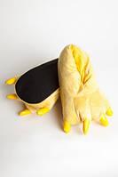 Домашние тапочки кигуруми Лапы Желтые SKL32-189892