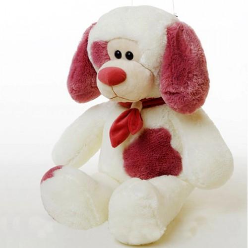 Мягкая игрушка пес Филя средний