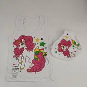 Белье для девочек: трусы, майки, бельевые футболки, комплекты
