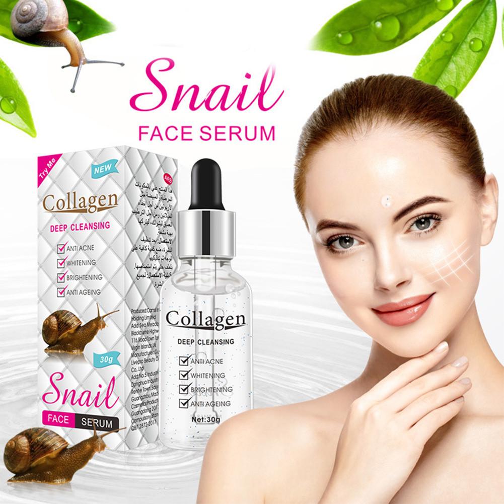 Коллагеновая сыворотка для лица с муцином улитки Snail Collagen омоложение +увлажнение + питание + анти акне