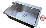 Кухонна мийка під стільницю Галатті Арта У-600, фото 4