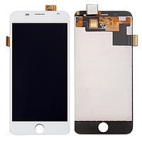 Дисплей (экран) для Prestigio MultiPhone PSP7505 Duo Grace R7 с сенсором (тачскрином) белый Оригинал