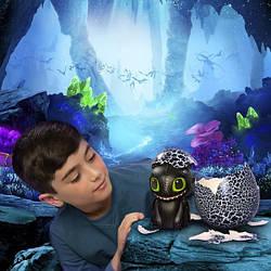 Интерактивный дракон Беззубик