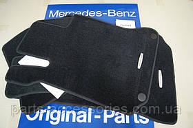 Mercedes C W204 W 204 велюрові килимки в салон передні задні чорні нові оригінал