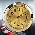 Автомобильные часы в решетку воздуховода или на скотч к поверхности - ЗОЛОТОЙ ЦИФЕРБЛАТ, фото 2