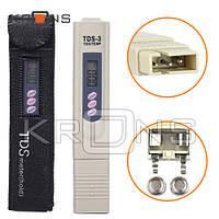 Тестер качества воды и температуры TDS-3 портативный анализатор
