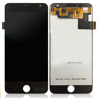 Дисплей (экран) для Prestigio MultiPhone PSP7505 Duo Grace R7 с сенсором (тачскрином) черный Оригинал