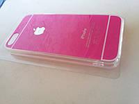 Силиконовый чехол для iPhone 5S/5 малиновый