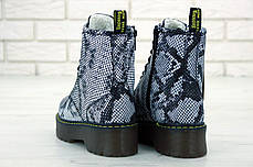 Женские ботинки Dr.Martens JADON кожа, ЗИМА. ТОП Реплика ААА класса., фото 3