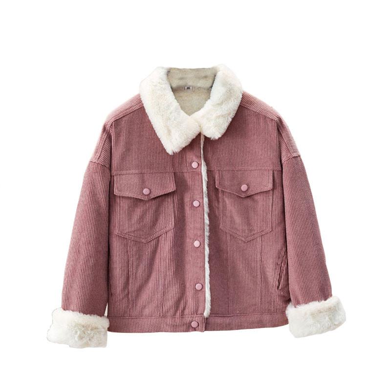 Теплая  курточка на  густом меху! розовая,вельвет фото  в  живую!