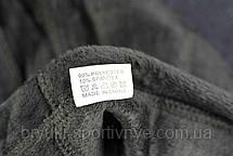 Женские брюки с карманами на меху в больших размерах 8 XL - 10 XL Лосины зимние с узором - батал, фото 3