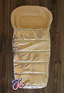 Зимний конверт на овчине  с прорезями для ремней безопасности -Зимний Lux+Видео, фото 5