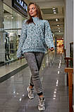 S328/7 Женский теплый свитер, фото 3