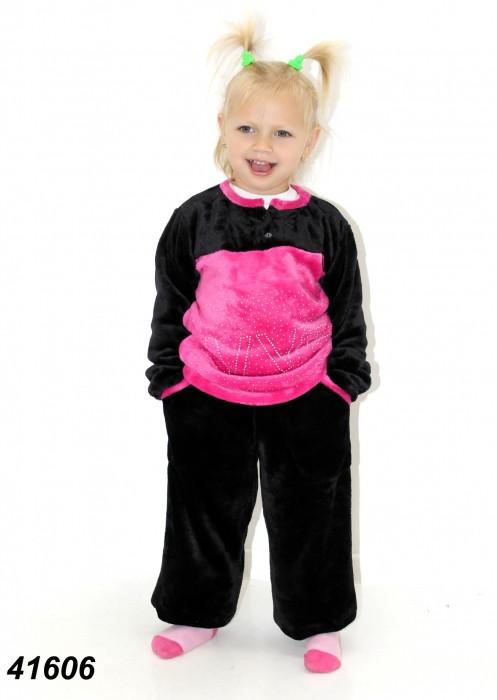 Детская махровая пижама на рост 104,128