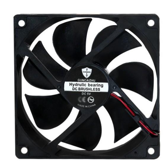 Вентилятор діаметр 70 мм товщина 10 мм живлення 12 В