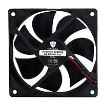 Вентилятор діаметр 70 мм товщина 10 мм живлення 12 В, фото 1