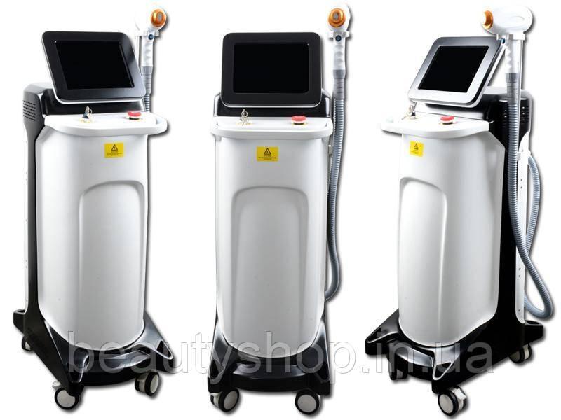 Діодна лазерна машина для видалення волосся з довжиною хвилі 755nm 808nm 1064nm для догляду за шкірою обличчя