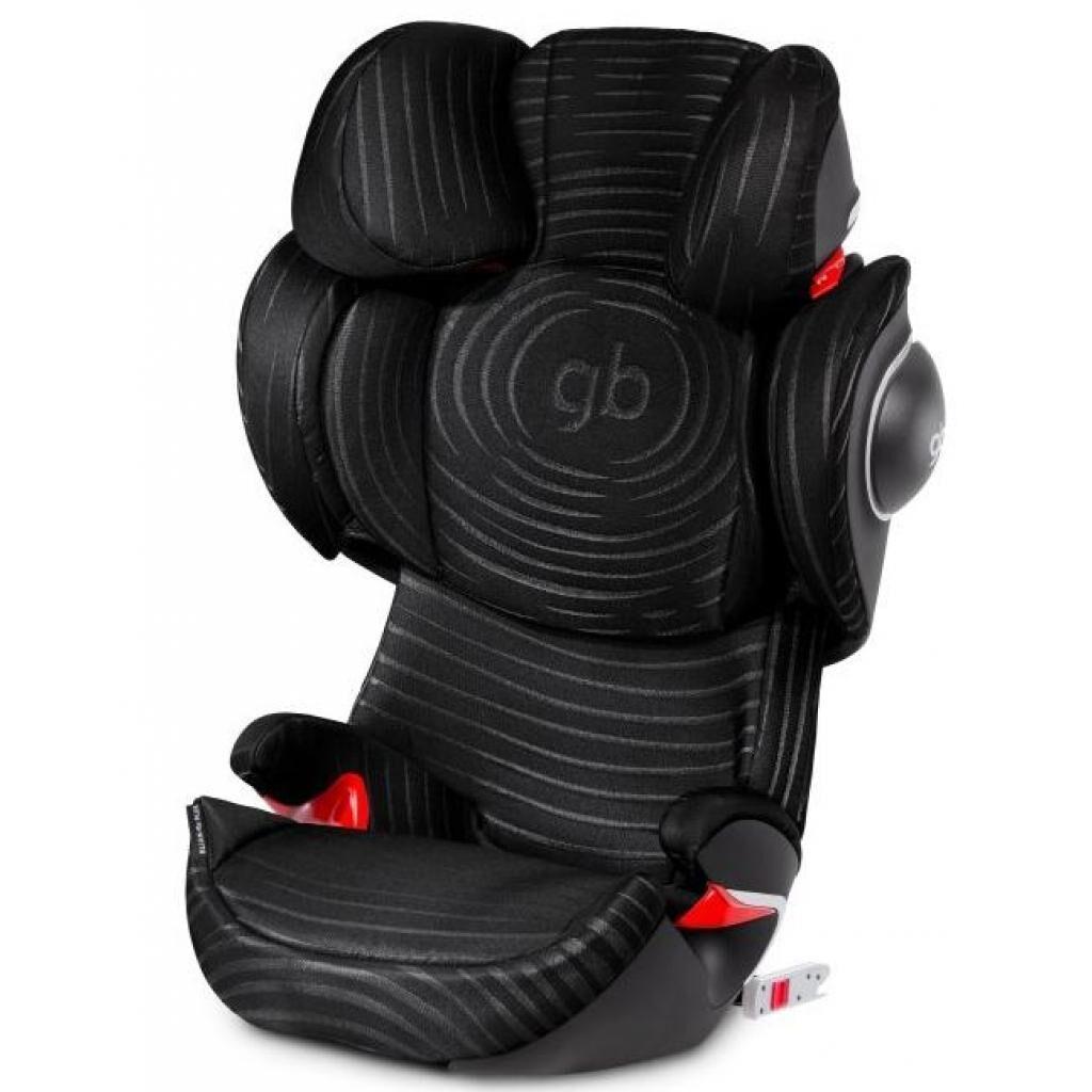 Автокресло GB Elian-fix Plus Lux Black (617000212)