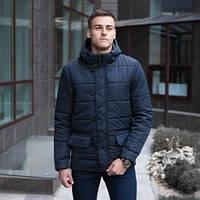 """Мужская демисезонная куртка Pobedov Jacket """"Belfort"""" Navy (S, M, L, XL размеры)"""