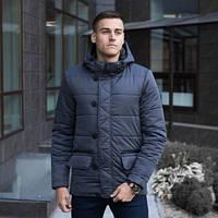 """Мужская демисезонная куртка Pobedov Jacket """"Belfort"""" Grey (S, M, L, XL размеры)"""
