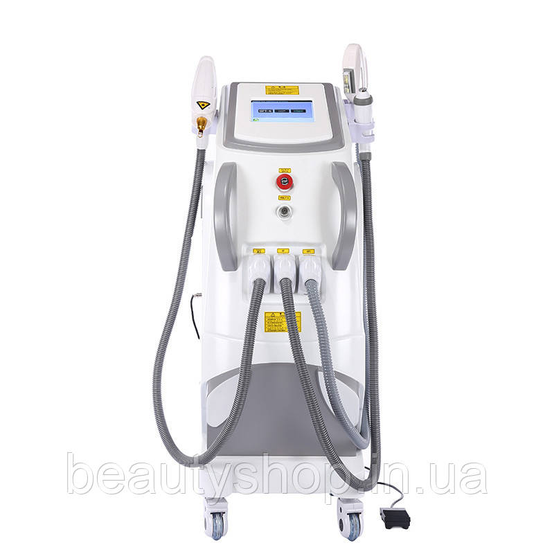 Апарат 4 в 1 IPL SHR + RF + лазерна машина для видалення волосся