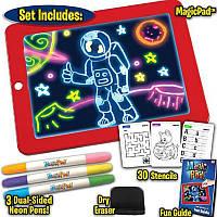 Световой планшет для рисования Magic Pad Sketchpad