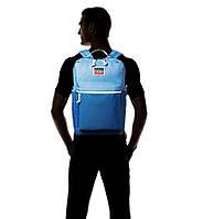 Мужской стильный рюкзак Levi's Левис голубой L Pack Backpack оригинал можно в школу