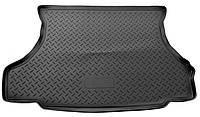 Килимок в багажник пластиковий для Peugeot 301 sd (12-)/Citroen C-Elysee sd (12-) (Lada Locker)