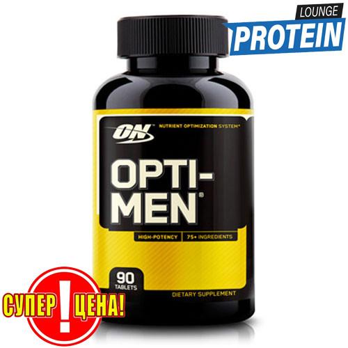 Витамины для мужчин Optimum Nutrition Opti-Men 90 tabs опти-мен