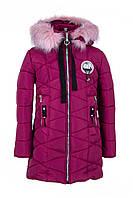 Зимние куртки для девочки от производителя 34-40 бордовый