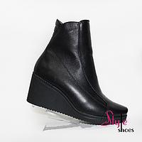 Елегантні жіночі черевики на платформі, фото 1