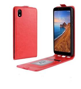 Чохол книжка для Xiaomi Redmi 7A Фліп Червоний