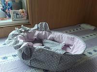 Люлька и постелька для пупсика. длинна 35см, фото 3