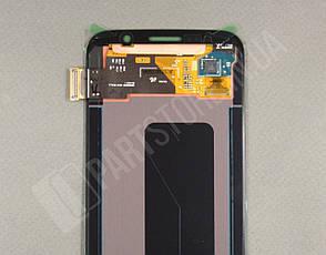 Дисплей Samsung G920 black S6  (GH96-17260A) сервисный оригинал , фото 2
